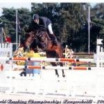 Tora - MS mladých koní - Zangersheide 2005